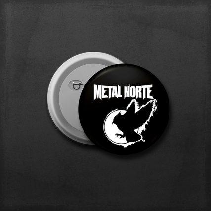 Chapa Metal Norte Buho 33mm