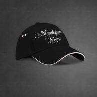 Gorra-Mandrágora-Negra-Logo-Blanco