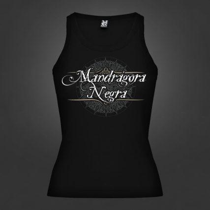 Mandrágora Negra Camiseta Chica Brenda Roly Negro